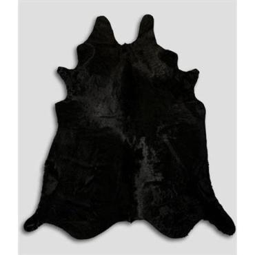 tapis en peau de vache noire 90113009 conforama. Black Bedroom Furniture Sets. Home Design Ideas