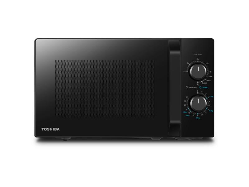 Toshiba mw2-mg20pbk combi micro-ondes - fonction gril - 20 litres MW2-MG20PBK