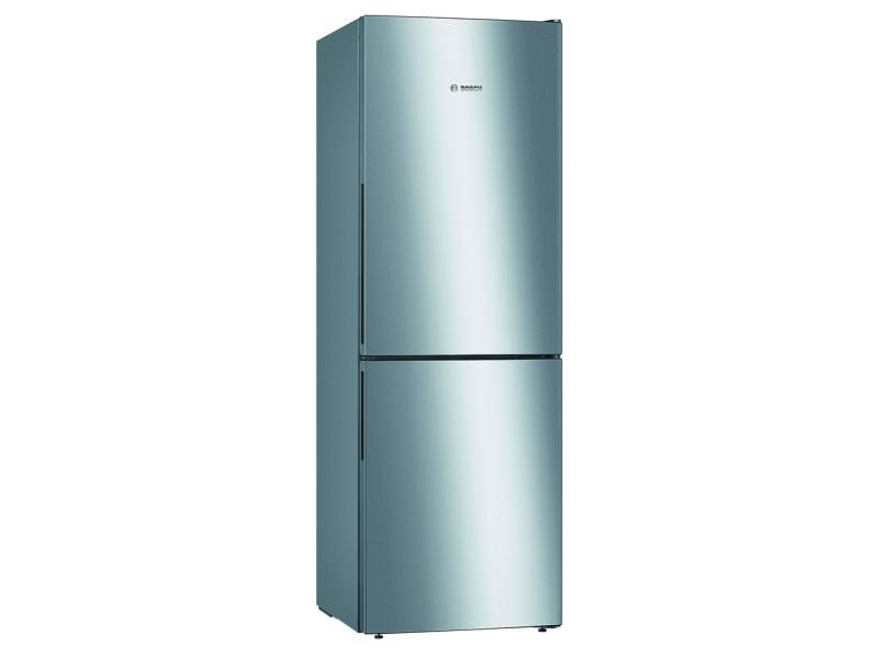Réfrigérateur combiné 60cm 287l a++ brassé inox - kgv33vleas kgv33vleas