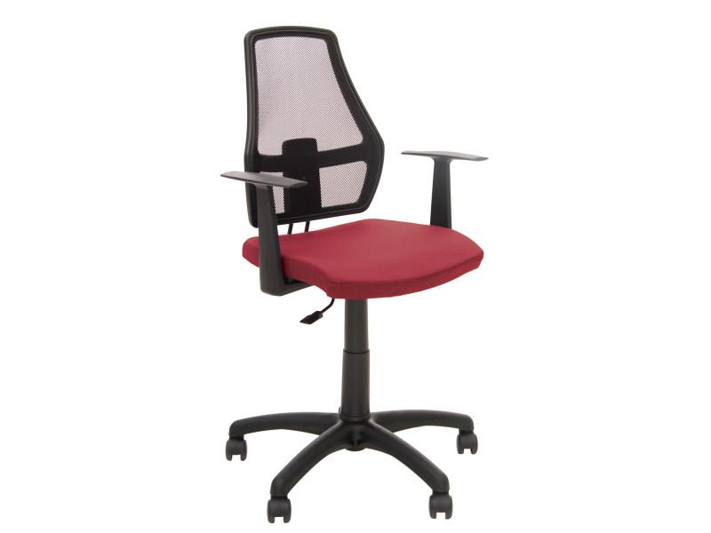 Fauteuil chaise de bureau pour enfant dossier en maille. fox 12