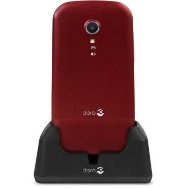 doro 2404 clapet double sim rouge blanc vente de t l phone mobile conforama. Black Bedroom Furniture Sets. Home Design Ideas
