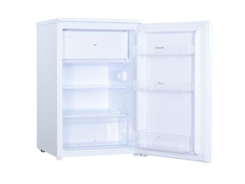 Réfrigérateur table top 115l froid statique brandt 55cm a++, bst524sw