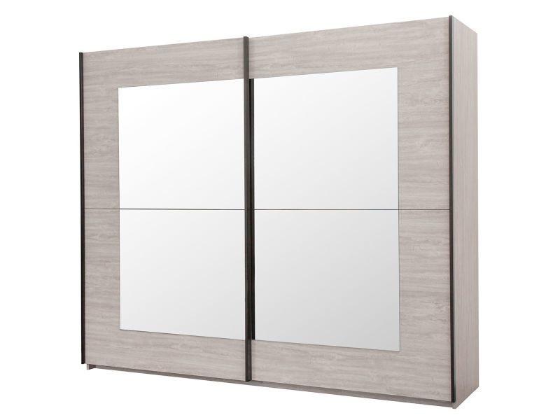 Marjorie - armoire 2 portes coulissantes 250cm