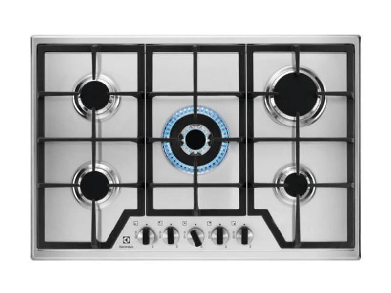 Table de cuisson gaz 75cm 5 feux inox - kgs7536x ELE7332543618255