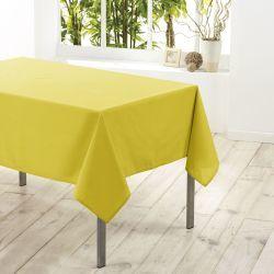 Nappe en polyester 140 x 200 cm tilleul