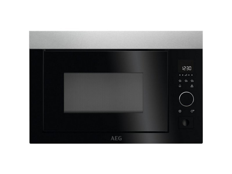 Aeg micro-ondes encastrable gril mbe2657s-m