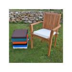 Coussin ecru pour fauteuil lombok