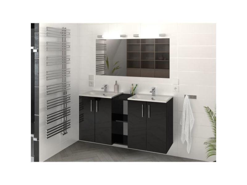 Salle de bain complete lima ensemble salle de bain double vasque l ...
