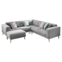 canap d 39 angle 6 pl conforama. Black Bedroom Furniture Sets. Home Design Ideas