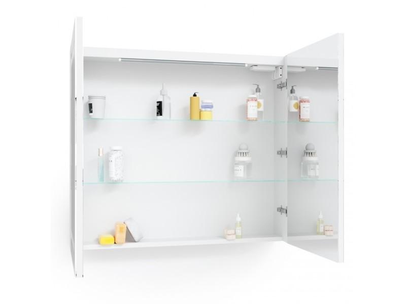 armoire à pharmacie 80 cm lumineuse led  vente de armoire