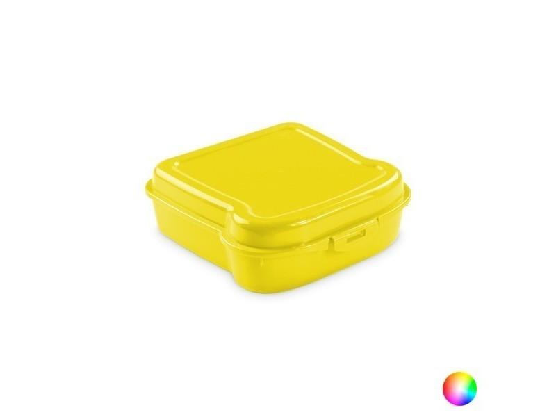 Boîte à sandwich sécurisé - lunch box couleur - jaune