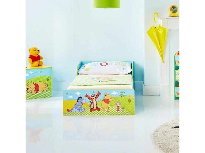 Charmant Lit Enfant Bois Et Métal Winnie Lu0027ourson Disney   Vente De Chambre Complète    Conforama