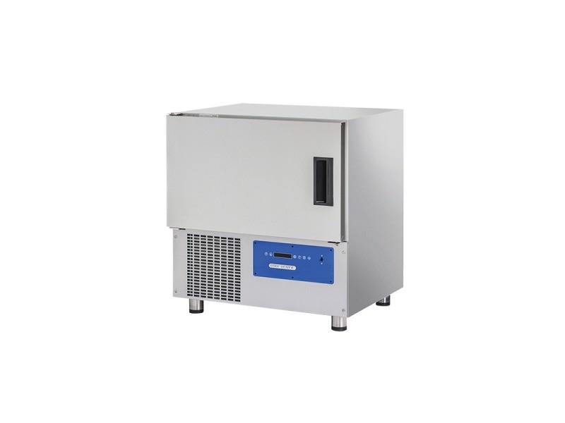 Cellule de refroidissement et congélation professionnel - 5 gn 1/1 - 5 x 600 x 400 - cool head - r452a de 0 à 5 niveaux