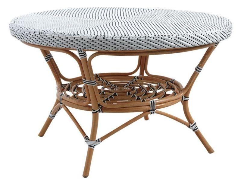 Table de jardin en rotin et résine - Vente de AUBRY GASPARD - Conforama