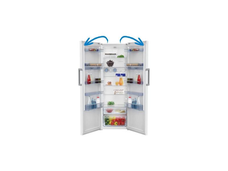 Beko fns174 - congelateur armoire - 250l - no frost - a+ ...