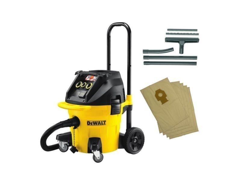 Aspirateur eau et poussière dewalt dwv 902m kit DWV902MKIT-QS