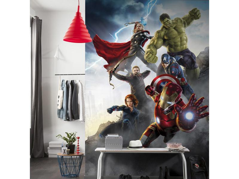 Papier Peint Avengers Age Of Ultron Marvel Vente De Chambre