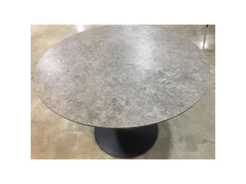 Table Ronde Avec Pied Central Josua Magnifique Design Pour Votre