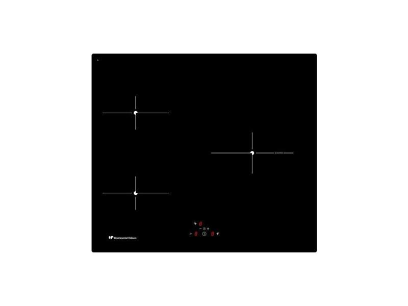 Plaque induction continental edison 4900w 59cm, ceti3z1b