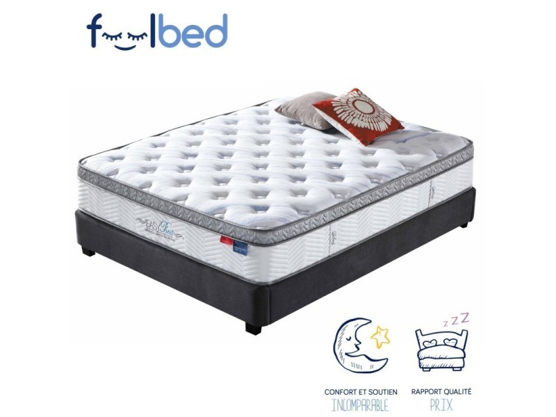 matelas m moire de forme pures 160x200 vente de meubler design conforama. Black Bedroom Furniture Sets. Home Design Ideas