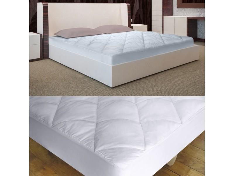 surmatelas plume d 39 oie houss 180 x 200 cm vente de id market conforama. Black Bedroom Furniture Sets. Home Design Ideas