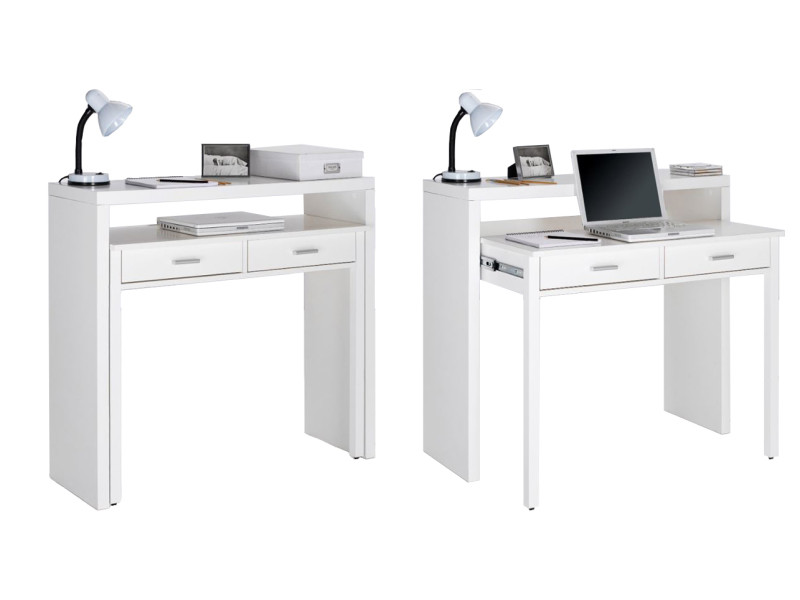 home innovation bureau informatique console extensible table d appoint de studio pour