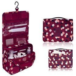 Trousse de toilette voyage pour femme, sac de lavage pliable, trousse maquillage