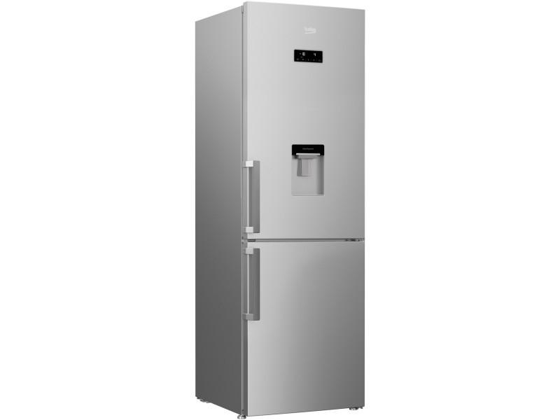 Réfrigérateur combiné 324l froid brassé beko 60cm, rcna366dsn BEK8690842387340