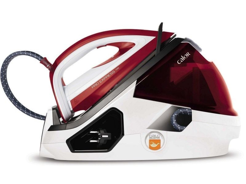 Calor pro express care gv9061c0 - centrale vapeur - semelle : durilium autoclean - 2400 watt - blanc/rouge CALGV9061C0