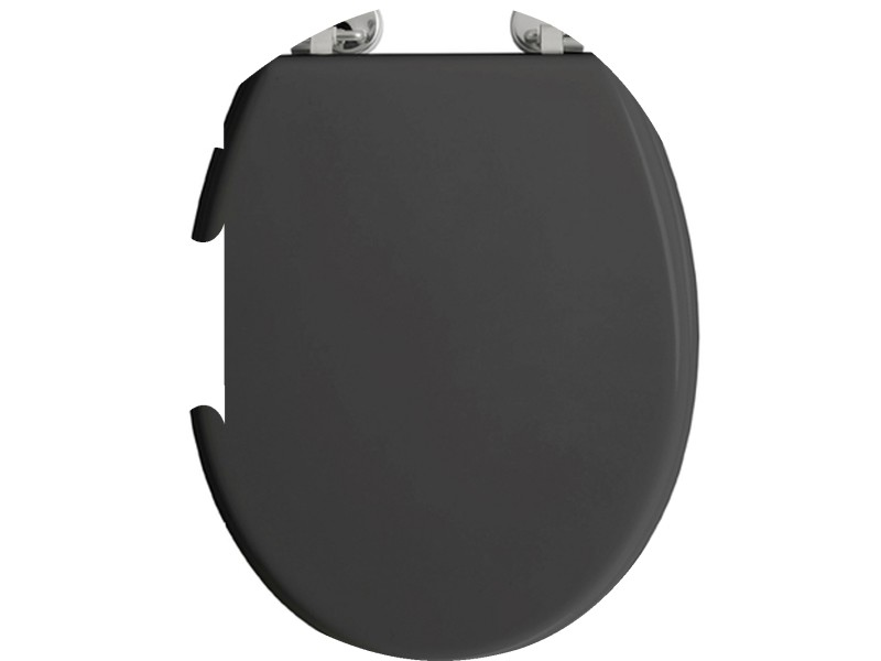 Abattant wc boliva - bois - gris