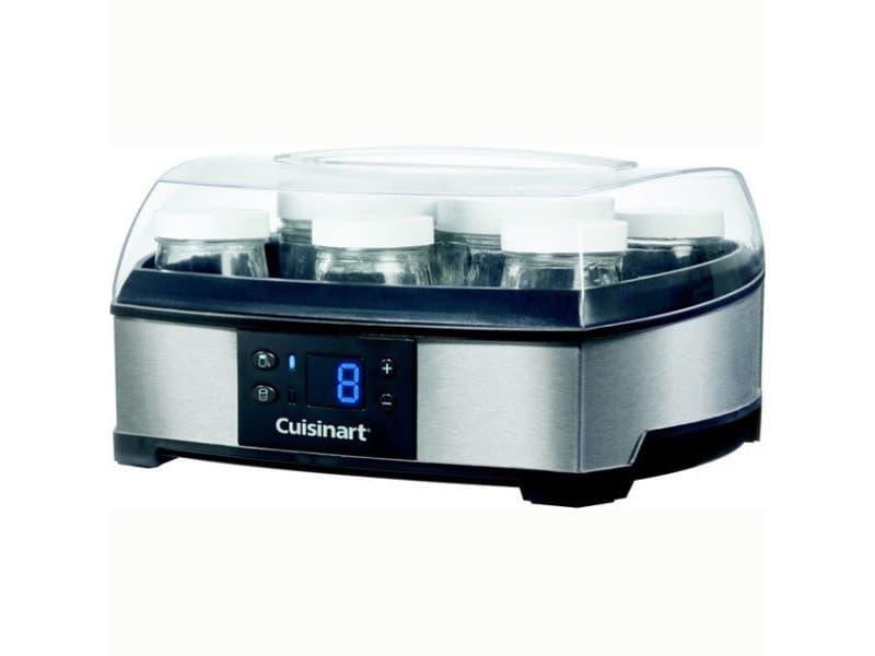 Cuisinart yaourtiere & fromagère 6 pots 125ml + 2 pots 250ml ym400e