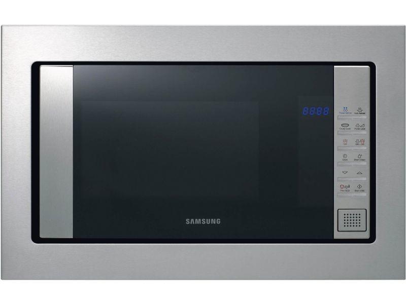 Micro-ondes + gril encastrable 20l 850w inox - fg77sust fg77sust