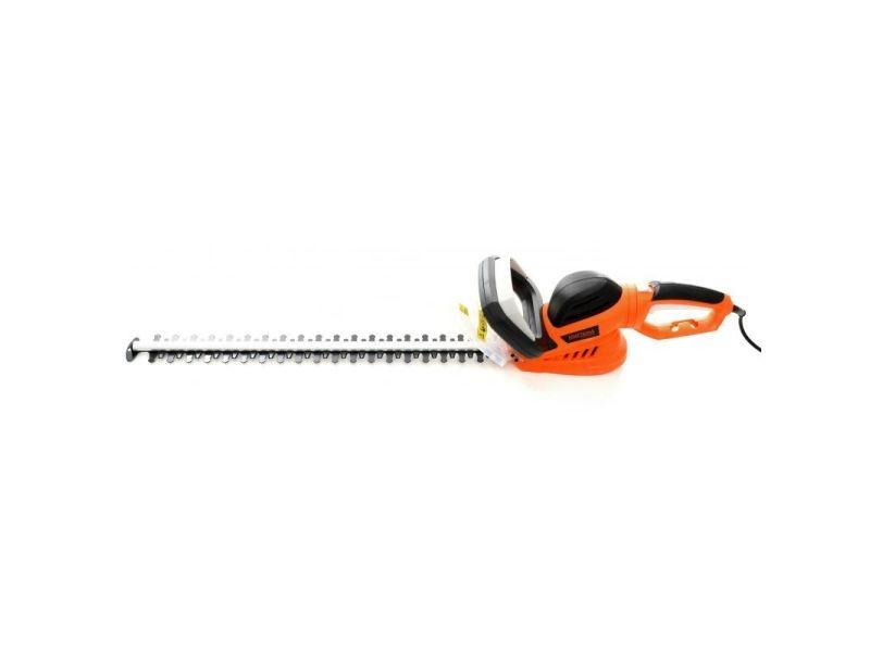 Dcraft | cisailles à haies électrique | puissance 1600w | distance entre lames 20 mm | outillage électrique jardinage - orange