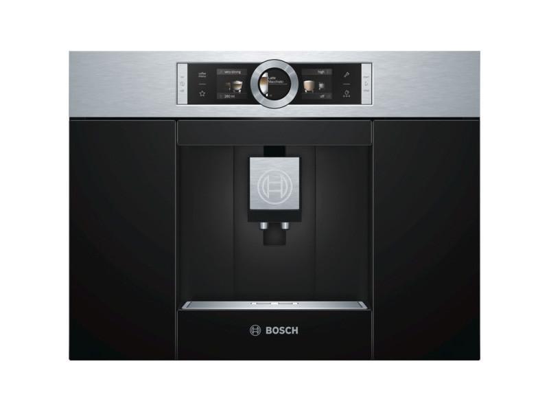 Robot café expresso 19 bars encastrable inox/noir - ctl636es1 ctl636es1