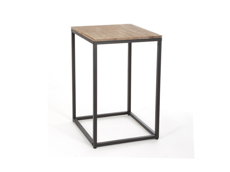 Table d 39 appoint edena vente de atmosphera conforama - Table d appoint conforama ...
