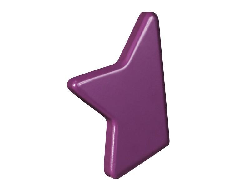 Bouton étoile Nova Violet Sauthon Vente De Accessoires De Chambre