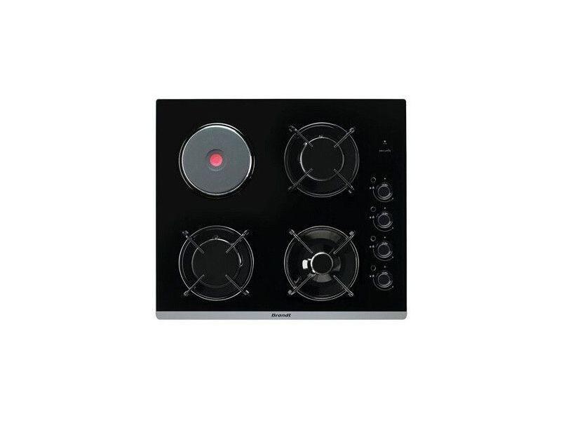 Table de cuisson mixte 51cm 4 feux noir - bpg6413bm bpg6413bm