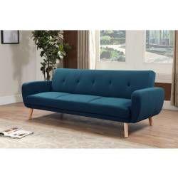 tous les canap s bleu conforama. Black Bedroom Furniture Sets. Home Design Ideas