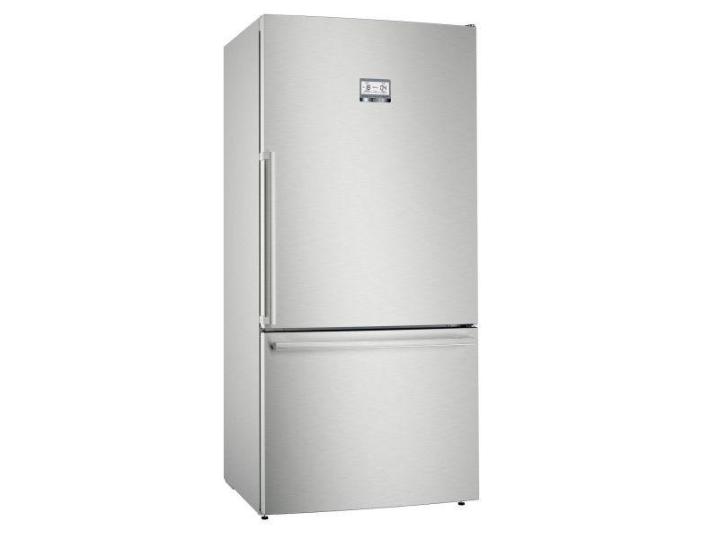 Réfrigérateur combiné 86cm 613l a++ nofrost inox - kgb86aifp kgb86aifp