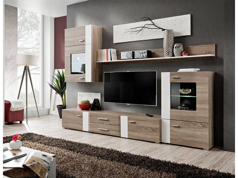 ensemble tv aleppo fashion 4 meubles scandinave vente de. Black Bedroom Furniture Sets. Home Design Ideas