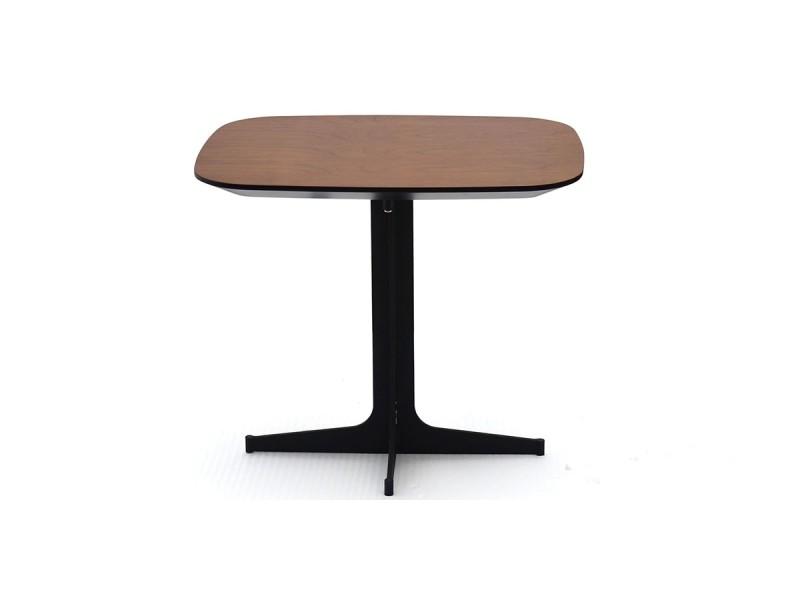 Table d'appoint bois venus - noyer - bois foncé