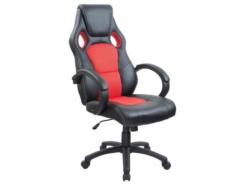 Siège Rouge Chaise Sport Bureau Ergonomique De Fauteuil Helloshop26 DH9I2WE