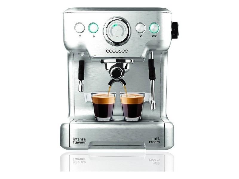 Cafetières magnifique café express arm cecotec power espresso 20 barista pro 2,7 l argenté