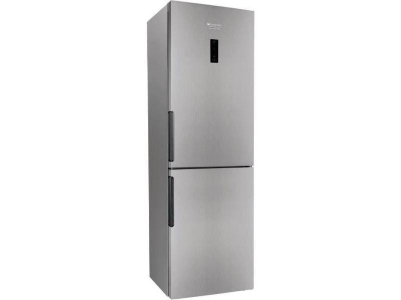 Réfrigérateur combiné 340l froid ventilé hotpoint 60cm a+, indxh8t1ox INDXH8T1OX