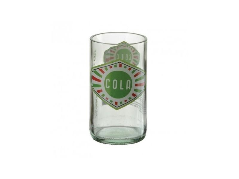 Verre cola soda rétro en verre - lot de 24 - 10 cm verre 30 cl
