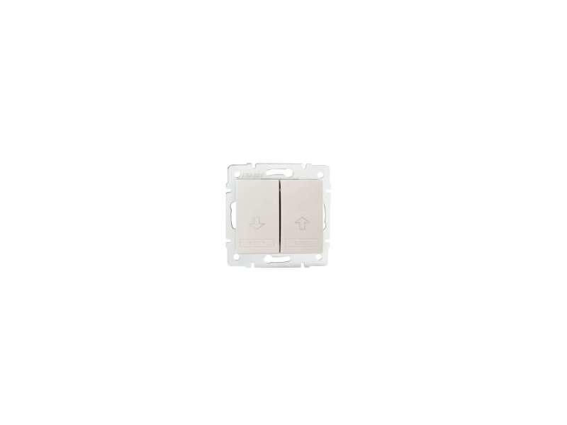 Bouton poussoir pour store domo crème KL-24803