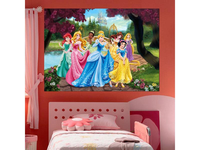 Poster Xxl Château Princesse Disney   Vente De Chambre Complète   Conforama