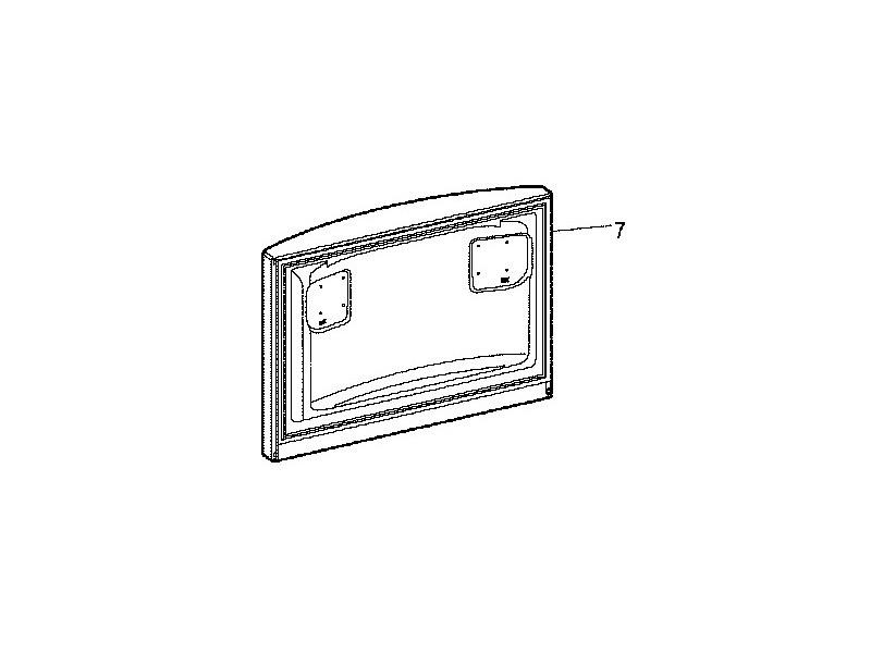 Porte superieure congelateur reference : c00276259