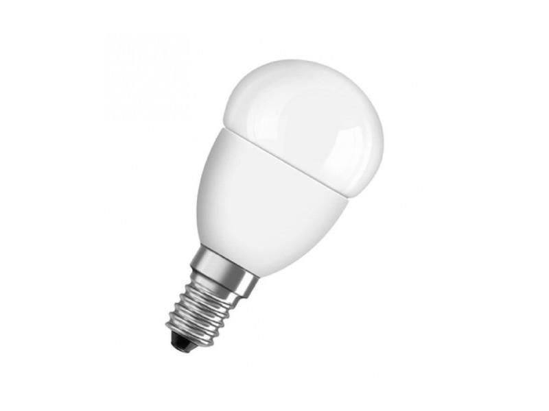 Ampoule led e14 sphérique dépolie blanc chaud 6w équivalent 40w star OSR11932