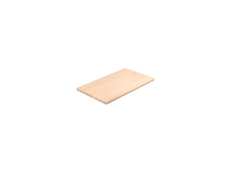 Planche à découper en bois lisse 500 x 300 mm - stalgast - bois